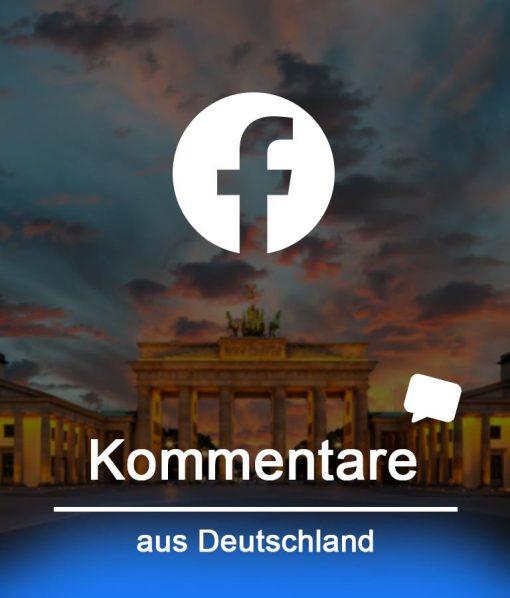 deutsche Facebook Kommentare kaufen