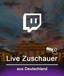 deutsche twitch live Zuschauer kaufen